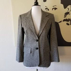 Jackets & Blazers - Gorgeous Grey Blazer with Faux Leather Buttons 10